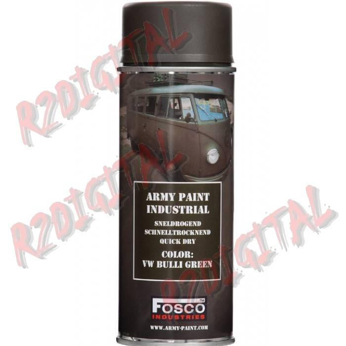 VERNICE ARMI FOSCO SPRAY VW BULLI GREEN 400ML PISTOLA